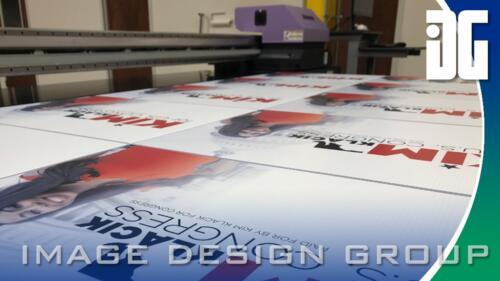 Custom printed signs